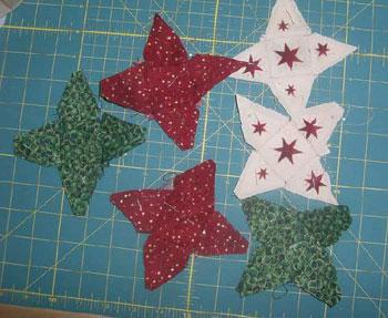 6 kleine Sterne